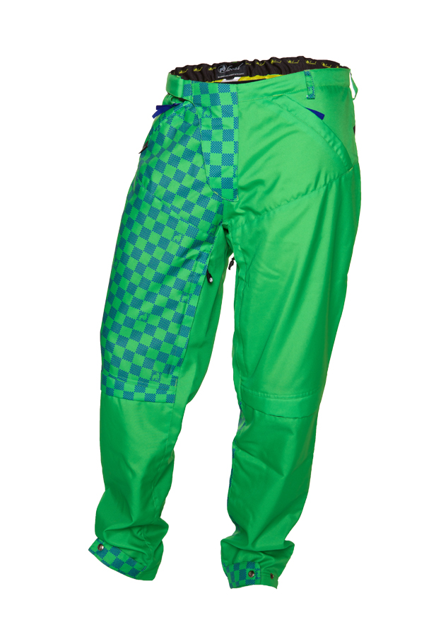 DH Pants Descent Green/Blue