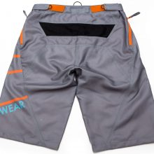 Shorts Stream (Grey-Orange)-Back