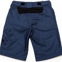 Womens Shorts Pebbles V2 (blue)-Back