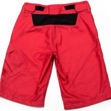 Womens Shorts Pebbles V2 (red)-Back